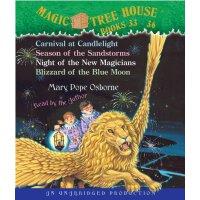 Magic Tree House Boxed Set, Books 33-36 神奇树屋有声读物33-36(仅CD,不