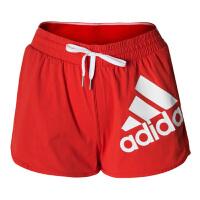adidas 阿迪达斯 女款 2019夏季夏季 防走光 红色 速干短裤 短裤 DY8660