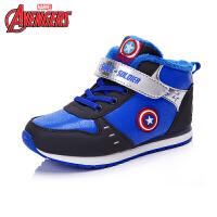 【99元2双】迪士尼冬新款男童女童鞋时尚保暖运动鞋保暖跑步鞋DS2099