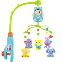 婴儿宝宝床铃音乐旋转摇铃玩具0-3-6个月女孩男孩0-1岁