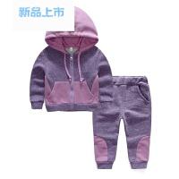 童装女童春装套装2018新款韩版儿童时尚1-3岁宝宝运动衣服5两件套