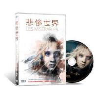 正版现货包发票悲惨世界音乐剧电影 DVD 休杰克曼 安妮海瑟薇