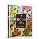 【发顺丰】英文原版 A Good Day Board Book 幼儿启蒙3-6岁美好的一天卡板书