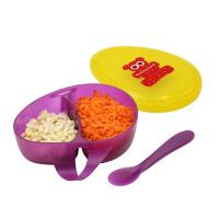 婴儿碗勺套装便携外出吃饭 儿童餐具辅食碗宝宝零食水果盒