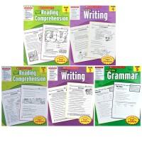 【三四五年级8册】小学高年级学乐成功系列 Scholastic Success with Workbooks Grammar/Writing/Reading 语法/写作/阅读理解 家庭练习册英文原版