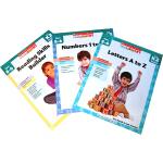 Scholastic Study Smart K2 学乐聪明学习系列练习册套装K2 Ages 5-6(共3册)ISBN 9781000110029