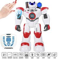 智能遥控机械战警多充电动儿童男孩玩具星宝战士机器人