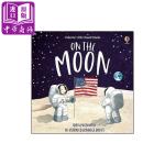 【中商原版】月球上 Benji Davies新书 On the Moon 出版Usborne 英文原版