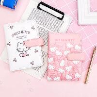 【hello kitty X 广博】凯蒂猫A6皮面本笔记本手帐记事本少女小清新日记本