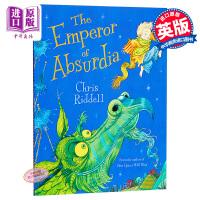【中商原版】Chris Riddell:怪异的国王 The Emperor of Absurdia 童话故事 绘本故事