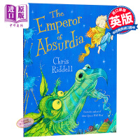 【中商原版】Chris Riddell:怪异的国王 The Emperor of Absurdia 童话故事 绘本故事书