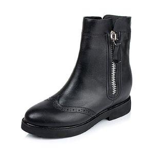 Tata/他她专柜同款小牛皮女靴2KJ61DZ5