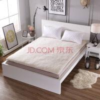 冬季加厚纯羊毛床垫子单双人1.5米床1.8m保暖学生宿舍床褥子垫被 超