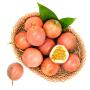 农谣 百香果 西番莲鸡蛋果 新鲜水果生鲜 3斤大果