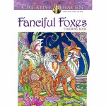 Creative Haven Fanciful Foxes Coloring Book(【按需印刷】)