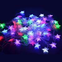 LED彩灯婚庆新年闪灯圣诞灯装饰灯节日灯串串灯满天星霓虹灯