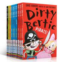 英文原版脏小弟Dirty Bertie系列第11-20本10本套装 趣味有意思的读物 儿童英文原版章节小说