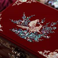 ��木� 珠��盒收�{盒�Y婚�Y物螺�漆器��な罪�盒