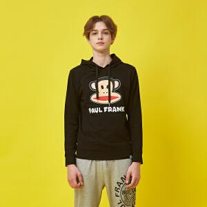 【限时秒杀到手价:152元】PaulFrank大嘴猴男款卫衣2018新款韩版学生外套运动连帽上衣