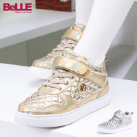 【159元2双】Belle/百丽童鞋秋冬季女童中童旅游鞋运动休闲鞋(5-10岁可选) DE0191