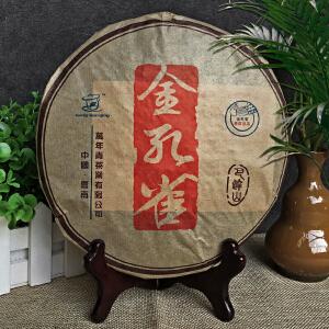 【7片】2008年云南勐海(巴达山-金孔雀)臻藏普洱熟茶 357g/片