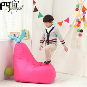 门扉 儿童沙发 创意小兔布艺儿童沙发客厅可拆洗单人宝宝小沙发