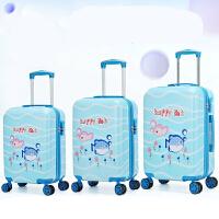 卡通儿童拉杆箱女万向轮18寸行李箱旅行箱20寸可爱书包男登机拖箱
