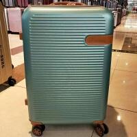 行李拉箱手拉箱万向轮20/28寸拉杆箱扩展加高abs复古行李旅行拉杆箱