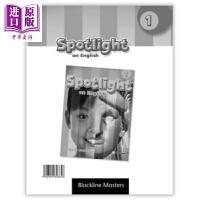 【中商原版】SPOTLIGHT ON ENGLISH 1 BLACKLINE MASTERS 英文原版 美国小学英语一年
