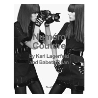 Numéro Couture卡尔・拉格菲尔德与Babeth Dijan:Numéro时装 时尚服装设计 摄影艺术书
