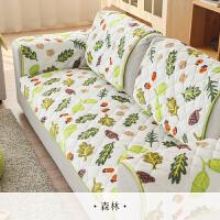 毛绒沙发垫冬季简约现代沙发巾布艺防滑沙发垫四季通用沙发套全包