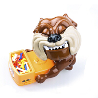 小心恶犬玩具夹骨头的狗恶狗咬手指偷骨头整蛊儿童同款抖音玩具狗 小心恶犬