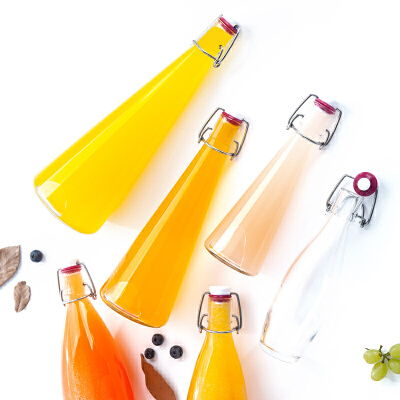 Glasslock韩国进口玻璃牛奶瓶酒瓶玻璃密封瓶油壶油瓶水瓶IP617