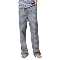 网易严选 设计师款 男式海洋蓝梭织长裤