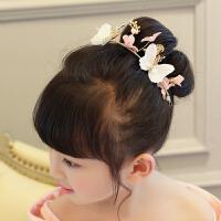 发箍发饰头饰小女孩头饰女童发箍头花头箍蝴蝶发夹 花色