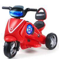 创意新款童车儿童电动三轮摩托车女宝宝玩具车可坐人车1-3-6岁男孩小汽车