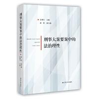 刑事大案要案中的法治理性 9787214233523 袁彬 等 江苏人民