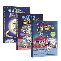 英文原版进口 The Alien Adventures of Finn Caspian 费恩-凯斯宾的外星人历险记系列1