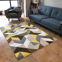 北欧简约几何地毯客厅茶几毯卧室满铺榻榻米简欧家用地垫可机洗 2x3 送地垫