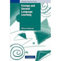 【预订】Foreign and Second Language Learning: Language