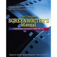 【预订】The Complete Screenwriter's Manual: A Comprehensive