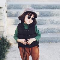 童装儿童马甲女秋冬外穿2018新款宝宝夹棉加厚背心小女孩无袖坎肩