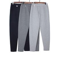 中老年人老式男士保暖裤加厚老人纯棉大码三层男女夹棉宽松棉裤