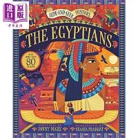 【中商原版】Hide-and-Seek History: The Egyptians 隐藏的埃及人 精品绘本 儿童埃及知