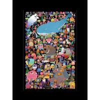 若态手绘平面拼图1000片成人手工减压玩具创意儿童益智礼物情人节