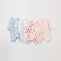 [领90元卷]戴维贝拉秋装新款婴幼儿连体衣 宝宝长爬哈衣DB9615