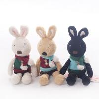 维莱 SG308毛围巾款 正品lesucre砂糖兔公仔毛绒玩具