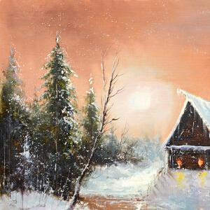 Y116张晨燕雪景