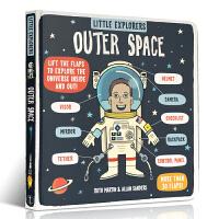 英文原版书绘本Little Explorers Outer Space小小探险家外太空 故事科普 分级系列 4-6岁儿