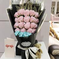 香皂花礼盒送女友男生闺蜜diy生日毕业礼物花束创意礼品